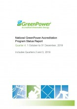 2019 Q4 GreenPower Quarterly Report title page