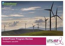 2015 GreenPower Program Review title page